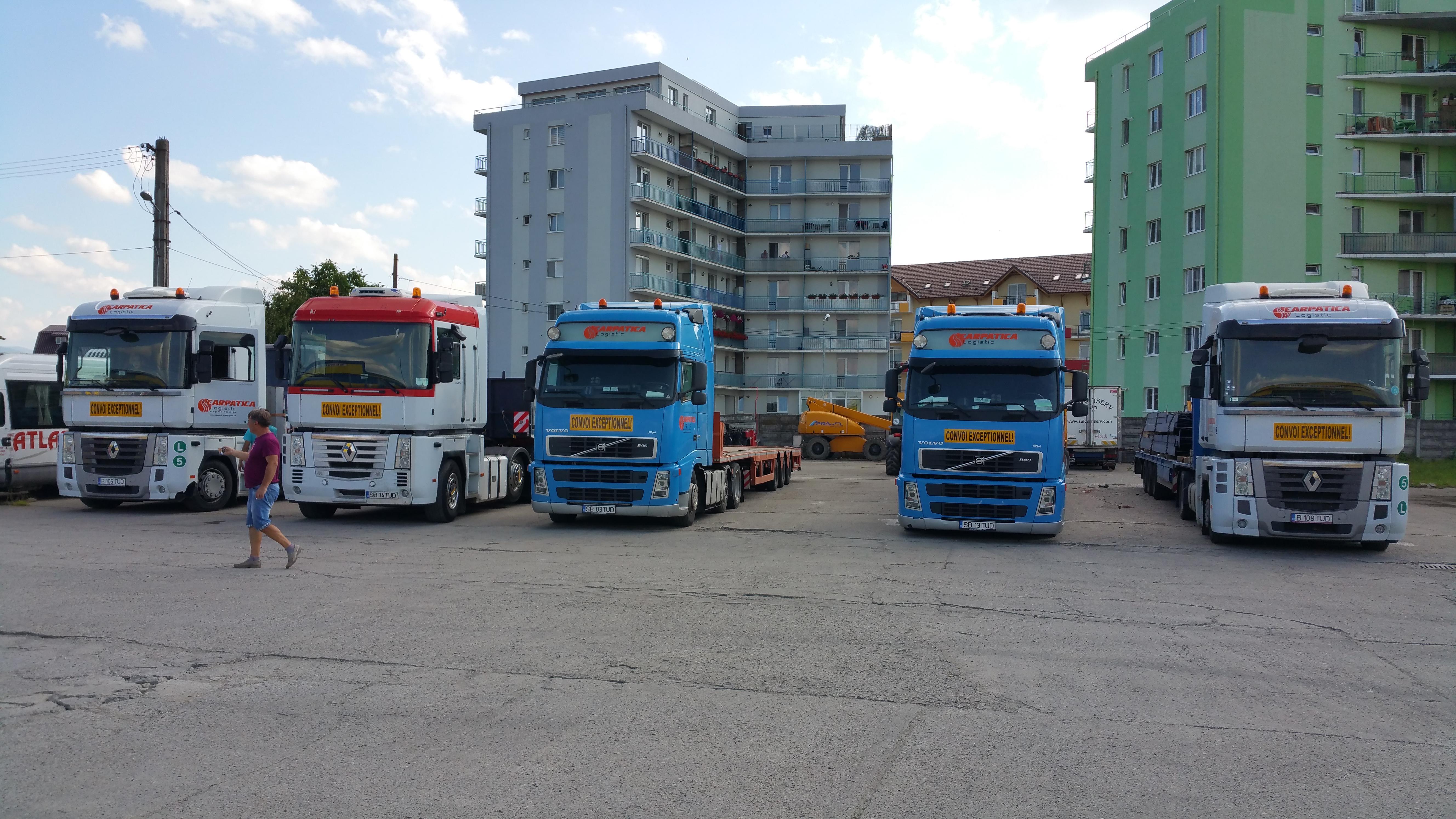 Oversized transports 3